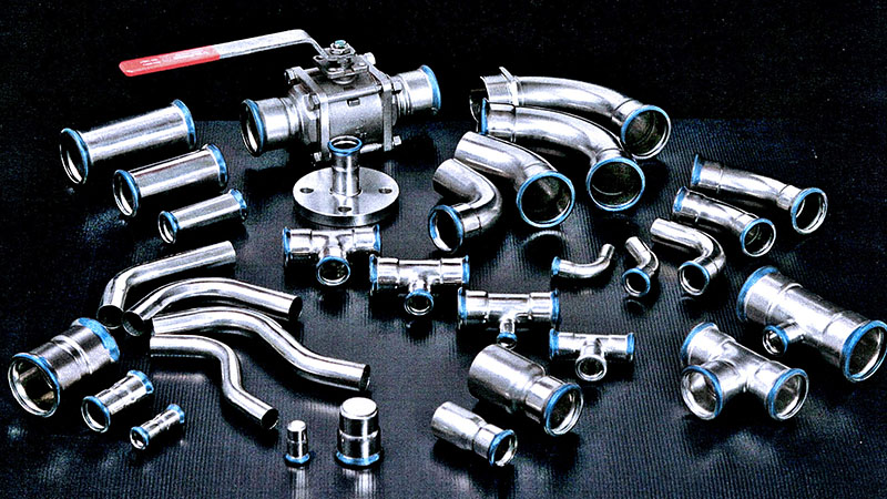 Stainless Steel Pipe fitting in India
